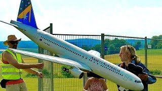 HUGE RC BOEING 767-200 SCALE MODEL AIRLINER ELECTRIC RC AIRCRAFT  JET FLIGHT DEMONSTRATION