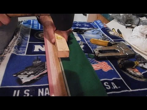 Pt 2 Replacing Pool Table Rail Cushions/Bumpers