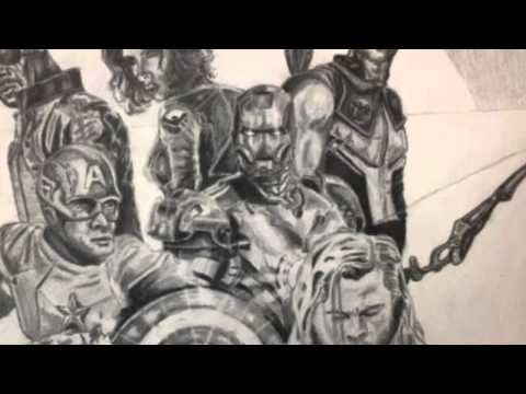 Avengers Pencil Drawing Avengers Pencil Drawing