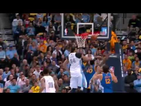 NBA CIRCLE - Golden State Warriors Vs Denver Nuggets Game 5 Highlights 30 April 2013 NBA Playoffs