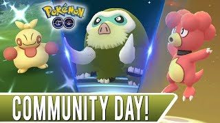 FEBRUARY 2019 COMMUNITY DAY VLOG! 13 x Shiny Swinub! 2 x 100 IV Eggs Hatched + Random Shiny Makuhita