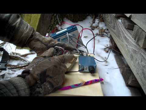 kd8bbk qrp rockmite 40 in the field
