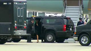 WATCH: President Trump DITCHES Melania To Air Force One (FNN)