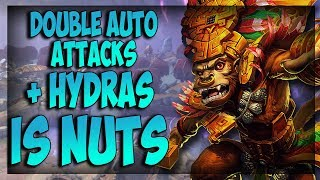 INSTANT DOUBLE AUTOS + BUFFED HYDRAS IS NUTS! - Masters Ranked Duel