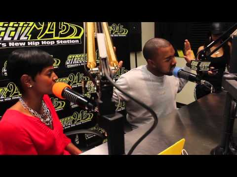 Streetz 94.5 Interview with Kanye West (@Kanyewest) with Rashan Ali on The Streets Morning Grind