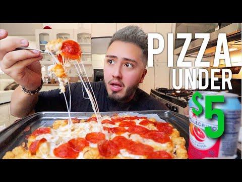 CHEESY TATOR TOT PEPPERONI PIZZA thumbnail