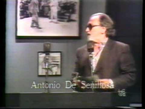 """antonio de senillosa en """"jazz entre amigos"""" """"el jazz y"""