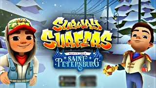 ⛄️ Subway Surfers Saint Petersburg (Christmas 2017) 🎄