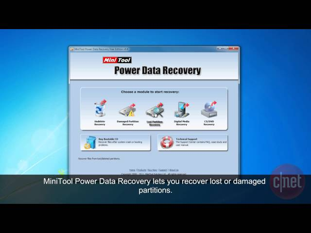 6 recovery power data personal