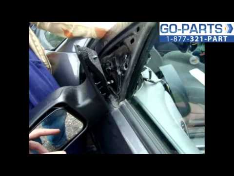 Replace 2003-2007 Ford Focus Side Rear View Mirror . How to Change Install 2004 2005 2006