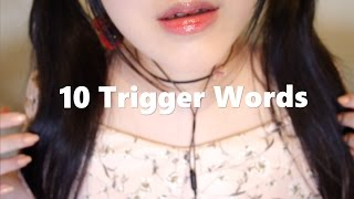 ASMR 10 Trigger Words & Hand Movements