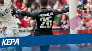 Kepa Best Saves in LaLiga Santander 2016/2017!