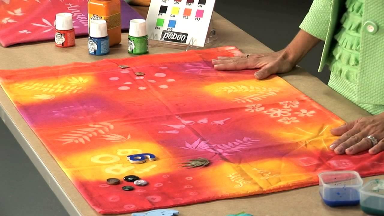 Remove Acrylic Paint Fabric