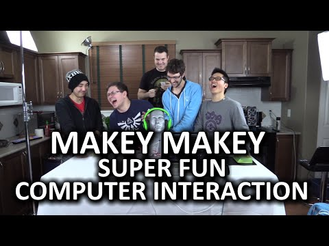 MaKey MaKey - How would YOU interact with your computer?