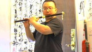 C Key Dizi, Touching and Lovely Vibe! Review and Demonstration (Chinese Flute)