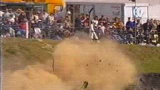 Leighton Walker massive crash Formula Renault at Brands Hatch 2000