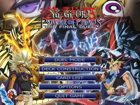 Yu-Gi-Oh! Power of Chaos - The Final Duel - ( Marik VS Yugi )