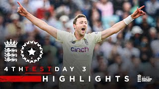 Electric Robinson On Decisive Day | England v India - Day 3 Highlights