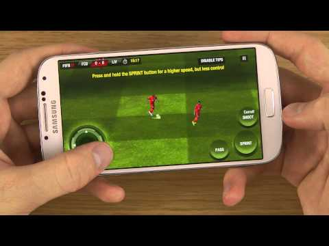 FIFA 12 Samsung Galaxy S4 Gameplay Review