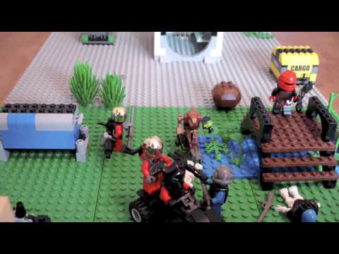 Project DELTA: Halo 3? [lego stop motion]