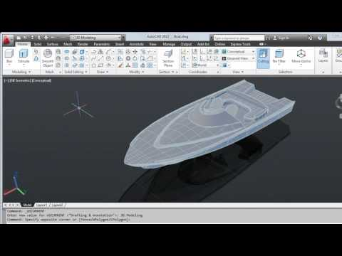 Tour the User Interface — AutoCAD 2012