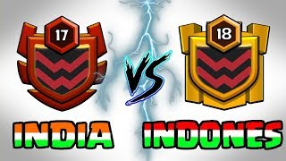 🔥 LIVE   INDIA VS INDONESIA 😎 CLAN WAR BATTLE 🔥 Clash Of Clans LIVE
