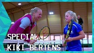 Kiki Bertens vervult wensen van tennis fans | ZAPPSPORT (English Subs)