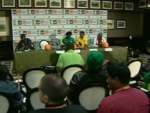 FIFA World Cup 2010 - Cameroon defender Gaetan Bong talks about the impending Denmark game