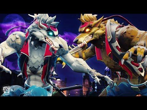 DIRE WEREWOLF vs. EVIL WEREWOLF?! *NEW SEASON 6* - A Fortnite Short Film