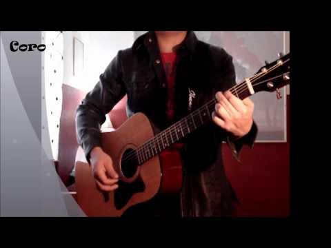 Juan Carlos Serrano/Jesus Adrian Romero Tirado a tus pies Guitar Tutorial