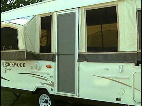Rockwood Hw High Wall Popup Camper Setup Youtube