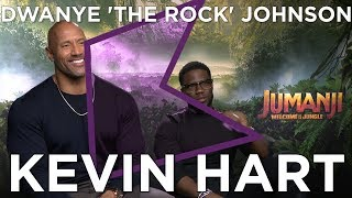 Kevin Hart and Dwayne