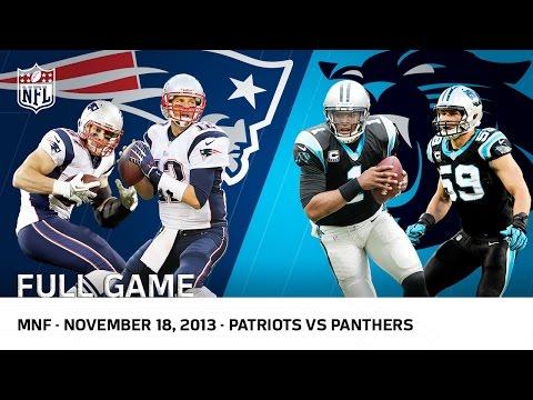 Cam Newton Beats Tom Brady   Patriots vs. Panthers Week 11. 2013   NFL Full Game