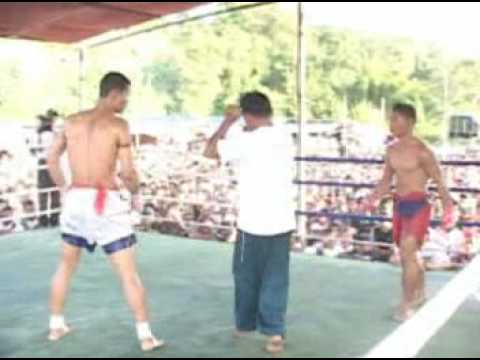Lone Chaw vs. Star Aung, Myanmar Lethwei, Part 2