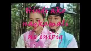 Buti Na Lang [lyrics] - Jessa Zaragosa [The Princess' Man sound track]