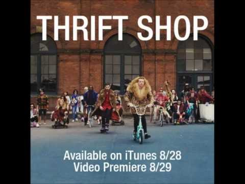 Thrift Shop - Macklemore & Ryan Lewis Feat. Wanz (clean) video