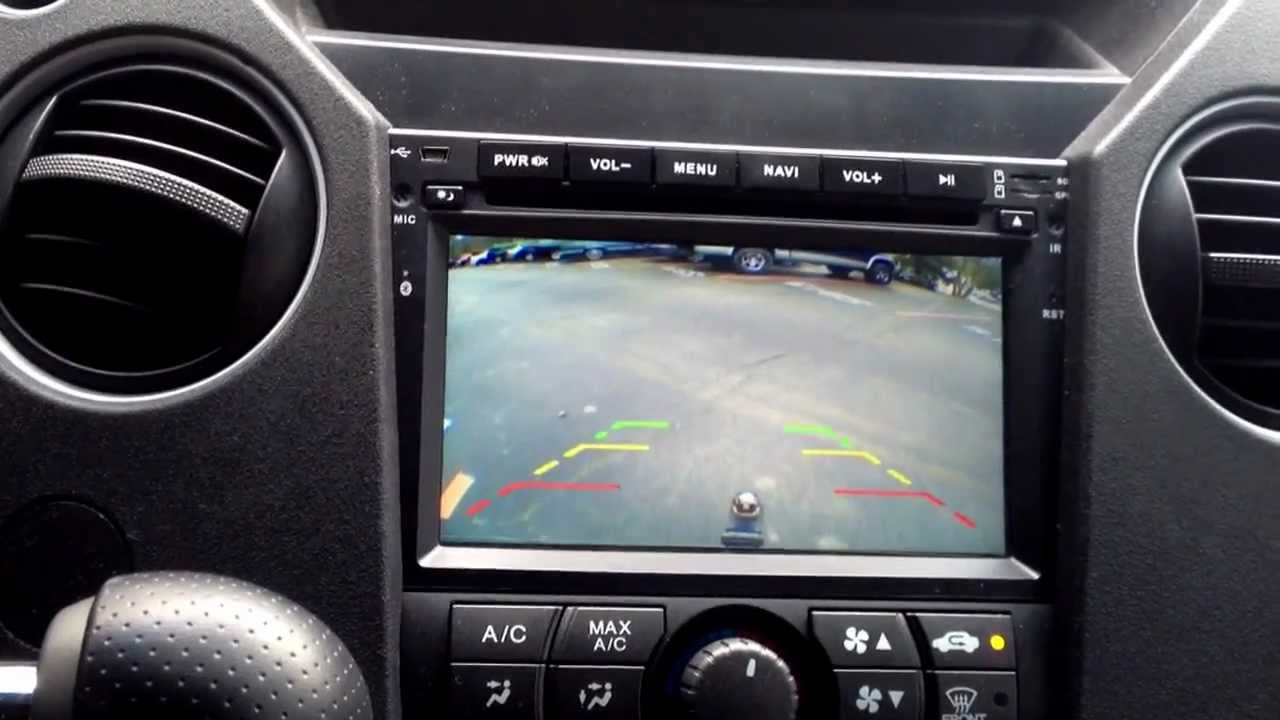 2011 Honda Pilot Lx After Market Head Unit Youtube