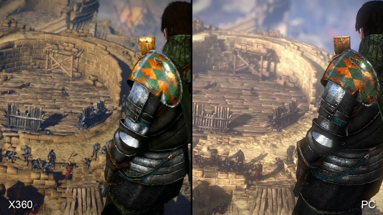 the witcher 2 xbox 360 vs pc comparison youtube. Black Bedroom Furniture Sets. Home Design Ideas