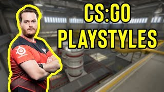 Defending A on Nuke feat. Friberg - CS:GO Playstyle