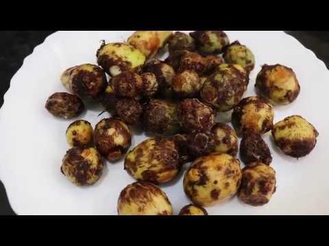 చామగడ్డ ఉల్లిపాయ ఫ్రై ||Chamagadda onion fry