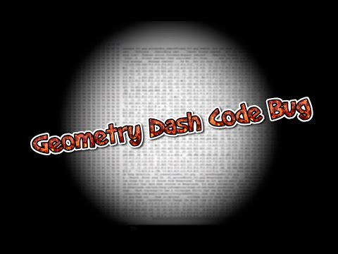Geometry Dash Code Bug! Crash your game and colour description! | Geometry Dash [2.02]