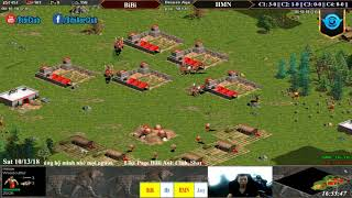 C2T2 AoE Solo BiBi Hittile vs Hoàng Mai Nhi Assyrian Ngày 13-10-2018