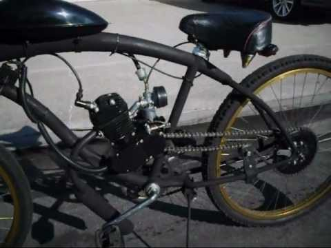 Motorized Bicycle 66cc - Beach Cruiser Bike - Cafe