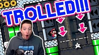 A Mario Maker TROLL Level That Teaches You Life Lessons???