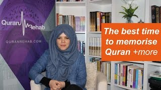 Q&A- Best time to memorise Quran? +more