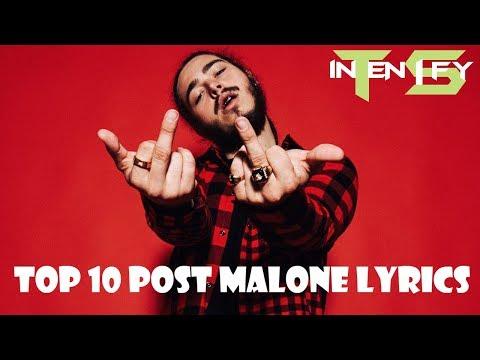 Top 10 Post Malone Lyrics