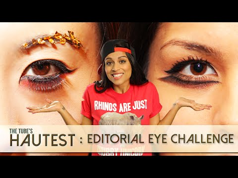 The Tube's Hautest: Editorial Eye Challenge! // I love makeup.