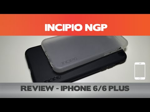 watch Clearly Not The  Incipio Ngp  Iphone 6 video