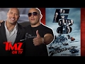 The Feud Between The Rock And Vin Diesel Is OVER | TMZ TV