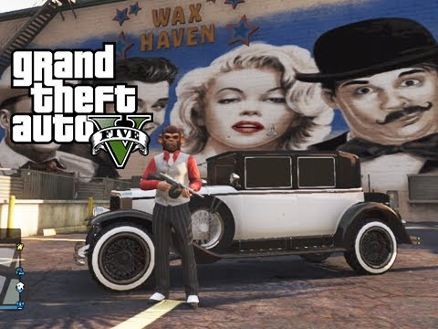 GTA 5 Online Valentine's Day Massacre DLC. Squeaker Mob Boss and My New Girl